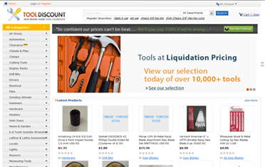 Tools and Discount