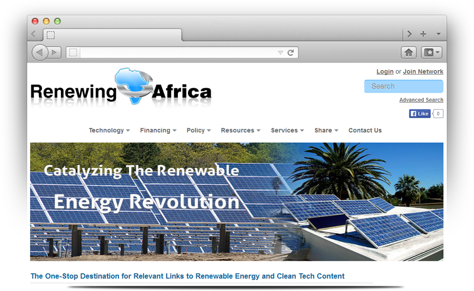 Renewing Africa